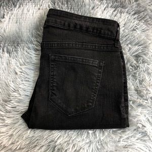 Old Navy Super Skinny Distressed Jeans Black
